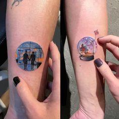 Eva Krbdk - tatuagem círculo miniatura