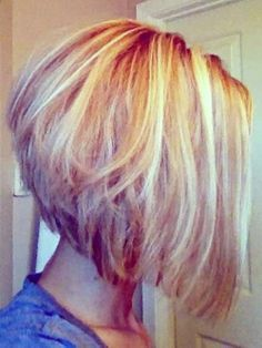 Had a longer version of this in February, but maybe I should try The Angled Bob Hairstyle for the Summeer ... Hmmmm!