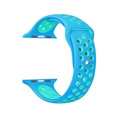 82fd597ea6f95 LIGHT BLUE SILICONE SPORT BAND FOR APPLE WATCH Apple Watch Nike