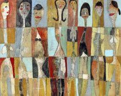 """""""Eight Ladies"""" by Scott Bergey 16 X 20 Canvas"""