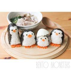 bentomonsters's photo on Instagram. Madagascar penguins.