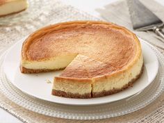 Honey Ricotta Cheesecake recipe from Giada De Laurentiis via Food Network