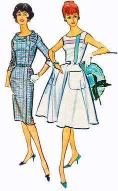 McCalls 4970 1950s dress