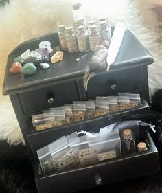 ~This incredible Pagan Kit is full of things perfect for a beginning Witch, Pagan, or Wiccan practitioner! Its also perfect as a traveling