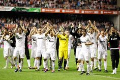 Soccer: Real Madrid Wins La Liga Title  Real Madrid 3 Athletic Bilbao 0 FINAL  Real Madrid clinched its 32nd Spanish league title and first in four years with a 3-0 win at Athletic Bilbao on last night.  keepinitrealsports.tumblr.com  keepinitrealsports.wordpress.com