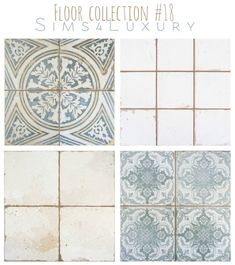 Sims 4 CC's - The Best: Floors by Sims4Luxury