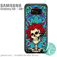 grateful dead rose skull Phone Case for Samsung Galaxy S8 | S8 Plus