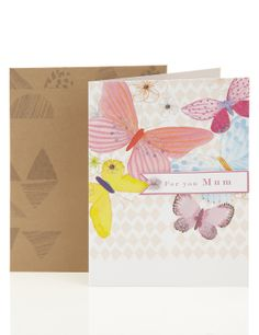 Butterfly Mother's Day Card | M&S