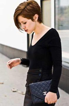 New Short Trendy Haircuts   2013 Short Haircut for Women