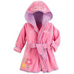 Disney Princess Bath Robe for Baby - Personalizable | Disney StoreDisney Princess Bath Robe for Baby - Personalizable - Our royal robe is the supreme bath wrap for your own little Princess. From crowned hood to embroidered floral accents, this plush terry creation offers the warm embrace of a happy ending to every tub-time tale.