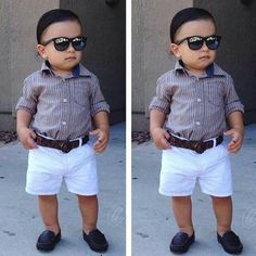 Best ideas for baby boy outfits cute Toddler Boy Fashion, Little Boy Fashion, Toddler Boy Outfits, Cute Outfits For Kids, Toddler Boys, Baby Boy Swag, Baby Boy Dress, Stylish Little Boys, Cute Baby Wallpaper