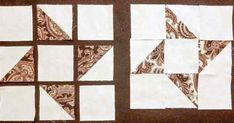 Yesterday, we explored 4 ways to use the leftover half-square triangles, and as I mentioned, there are many other combinations. This Friendship Star quilt block is my favorite, so I decided to make a large block using several overlapping...