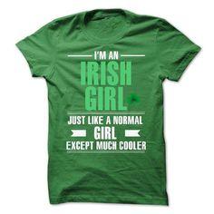 Cool Irish girl T Shirts, Hoodies, Sweatshirts. CHECK PRICE ==► https://www.sunfrog.com/LifeStyle/Cool-Irish-girl-6587858-Guys.html?41382