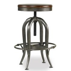 Found it at Wayfair - Wendover Adjustable Height Swivel Bar Stool