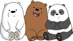 Polar pardo y panda