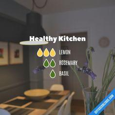 Healthy Kitchen - Essential Oil Diffuser Blend
