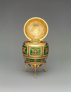 Imperial Napoleonic Egg by House of Fabergé