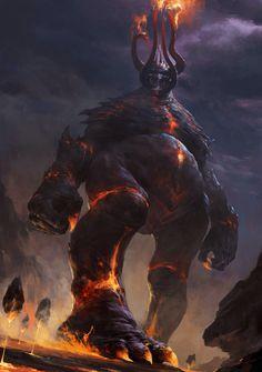 Demonio colosal by ?