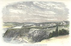 24 mars 1857 : Ottawa, capitale canadienne ?  Canada, Ottawa, proposed seat of new Canadian Government, 1857