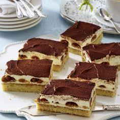 Tiramisu-Kuchen vom Blech Rezept                                                                                                                                                      Mehr