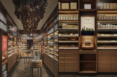 Davidoff of Geneva flagship store by Stories, New York City » Retail Design Blog