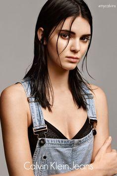 Kendall Jenner Lands Calvin Klein Jeans Campaign - Kim Kardashian's Sister Kendall Jenner for Calvin Klein