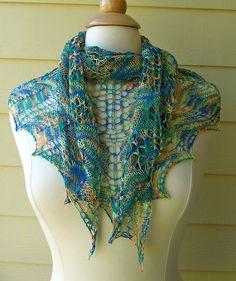 Free Pattern: Sparrowette shawl by Maja Jokanovic