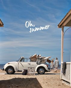 Summer vibes - cute VW car, surf boards & the Beach Summer Vibes, Summer Feeling, Summer Breeze, Summer Sun, Summer Beach, Summer Days, Pink Summer, The Beach, Beach Bum