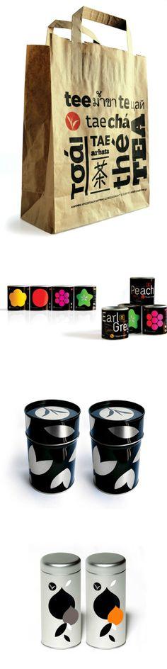 Tea Route Instant Iced tea Packaging #tea #ideadtea #teapackaging #packaging