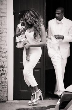 Beyonce Blue & Jay At Solange Wedding In New Orleans Louisiana 16.11.2014