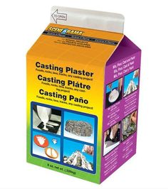 Scene-A-Rama Casting Plaster: 8 ounces, White Plaster Cast, Water Effect, Animal Tracks, Lava Flow, Dot Art Painting, Great Hobbies, Train Layouts, Toys Online, Free Gift Cards