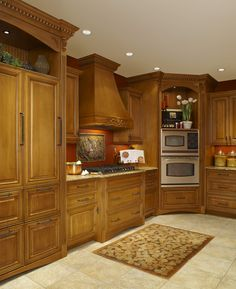 Superbe Nice Wooded Custom Cabinets Done By LaFata Located In Michigan! #LaFata # Cabinets #