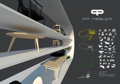 Fair stand PP Mobler Debowski Design Interior designer London