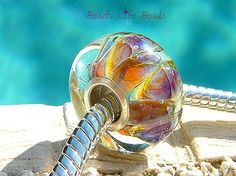 MISS GIGI OPAL Fully Lined Sterling Silver Big by beachlifebeads, $17.50