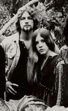 Still two of my favorite artists.  Lindsey Buckingham & Stevie Nicks 1973