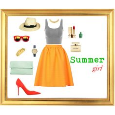 """""""Summer Chic"""" by lenkafen on Polyvore"""