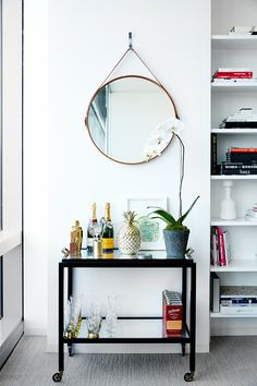 Forget The Power Suit: This Chic Office Design Is A Power SPACE. Ultimate office space inspo.