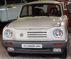 Trabant 601 - Projet de modernisation - Prototype 1988