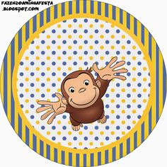 Curious George Free Printable Candy Bar Labels. Check out the whole set! :)