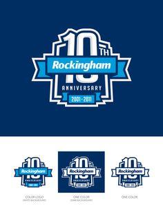 Rockingham Speedway 10th Anniversary Logo Design