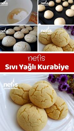 Sıvı Yağlı Kurabiye – Nefis Yemek Tarifleri – Mutfakta Sevgi Var – Tatlı tarifleri – Las recetas más prácticas y fáciles Yummy Recipes, Yummy Food, Healthy Eating Tips, Healthy Nutrition, Turkish Kitchen, Vegetable Drinks, Homemade Beauty Products, Food Humor, Recipes