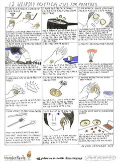 12 Weirdly Practical Uses for Potatoes « The Secret Yumiverse