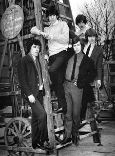 Stones early publicity photo.