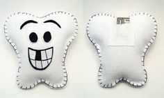Toothfairy pillow - what a great idea to put money in from the Toothfairy!