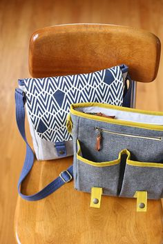 Campfire Messenger Bag | Noodlehead
