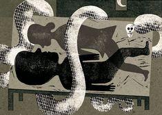 Kipling : Isidro Ferrer  Kipling ilustrado Ilustraciones para el cuento Rikki-tikki-tavi MUVIM, Museu Valencià de la il-lustració i de la Modernitat Editorial Kalandraka, 2011