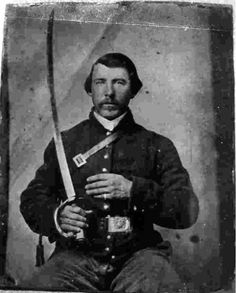 William David McCulloch, Company F, Tennessee Cavalry-Union. This regiment participated in the Battle of Franklin, Tennessee. Us History, American History, Civil War Art, Southern Heritage, War Image, America Civil War, Historical Monuments, Civil War Photos, Military History