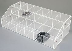 Store supplies to meet all your retail store needs. 16 x x 7 Clear Jewelry Store Displays, Jewelry Stores, Store Supply, Jewelry Organization, Organizers, Clear Acrylic, Decorative Boxes, Crystals, Home Decor