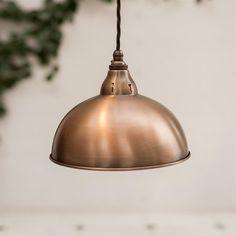 Butler Pendant Light in Heritage Copper Jim Lawrence Copper Pendant Lights, Pendant Lighting, Ceiling Rose, Ceiling Lights, Wall Lights, White Light, Light Up, Open Plan Kitchen Diner, Kitchen Island
