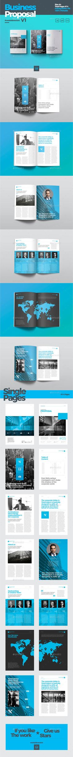 Business Proposal Indesign Template Business proposal, Indesign - event proposal templates